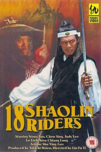 18 Shaolin Riders Poster