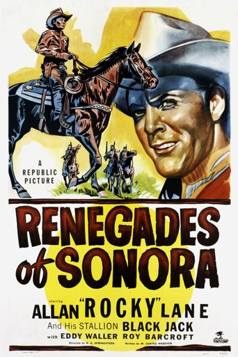 Renegades of Sonora Poster