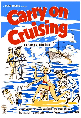 Carry On Cruising Poster
