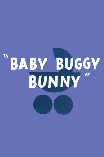 Baby Buggy Bunny Poster