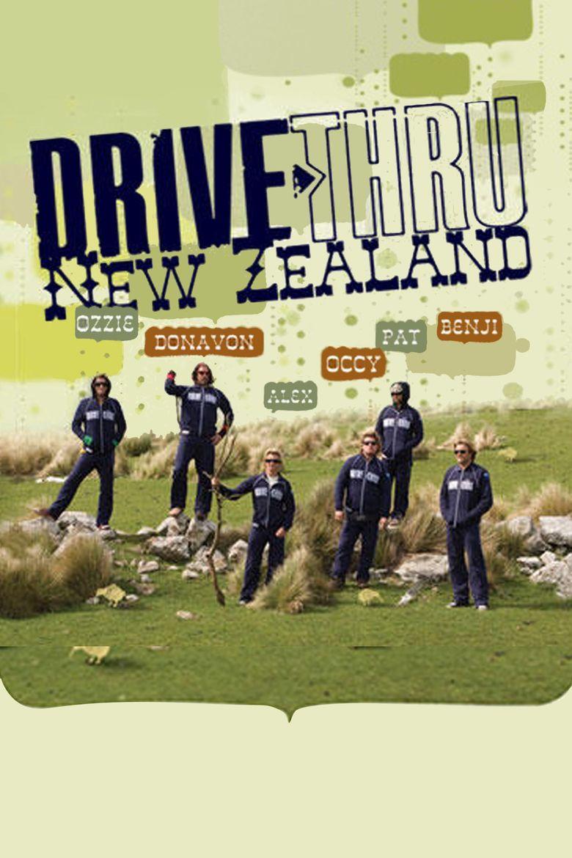 Drive Thru New Zealand Poster