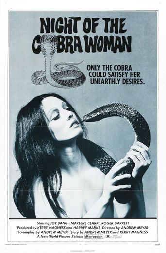 Night of the Cobra Woman Poster