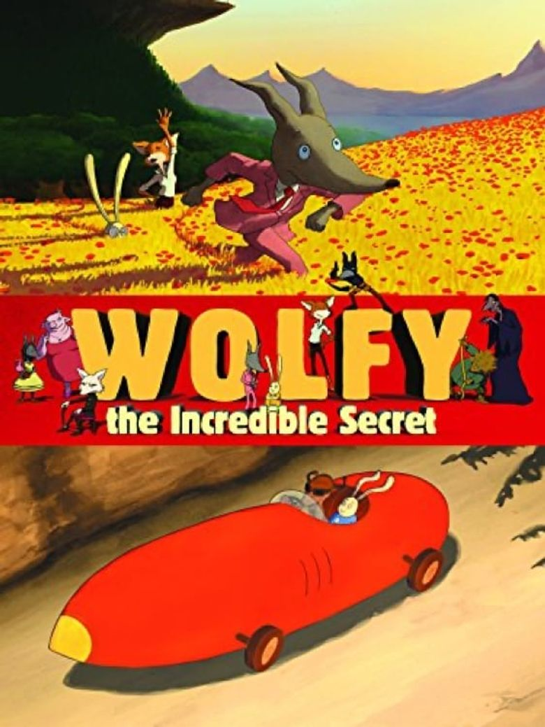 Wolfy: The Incredible Secret Poster