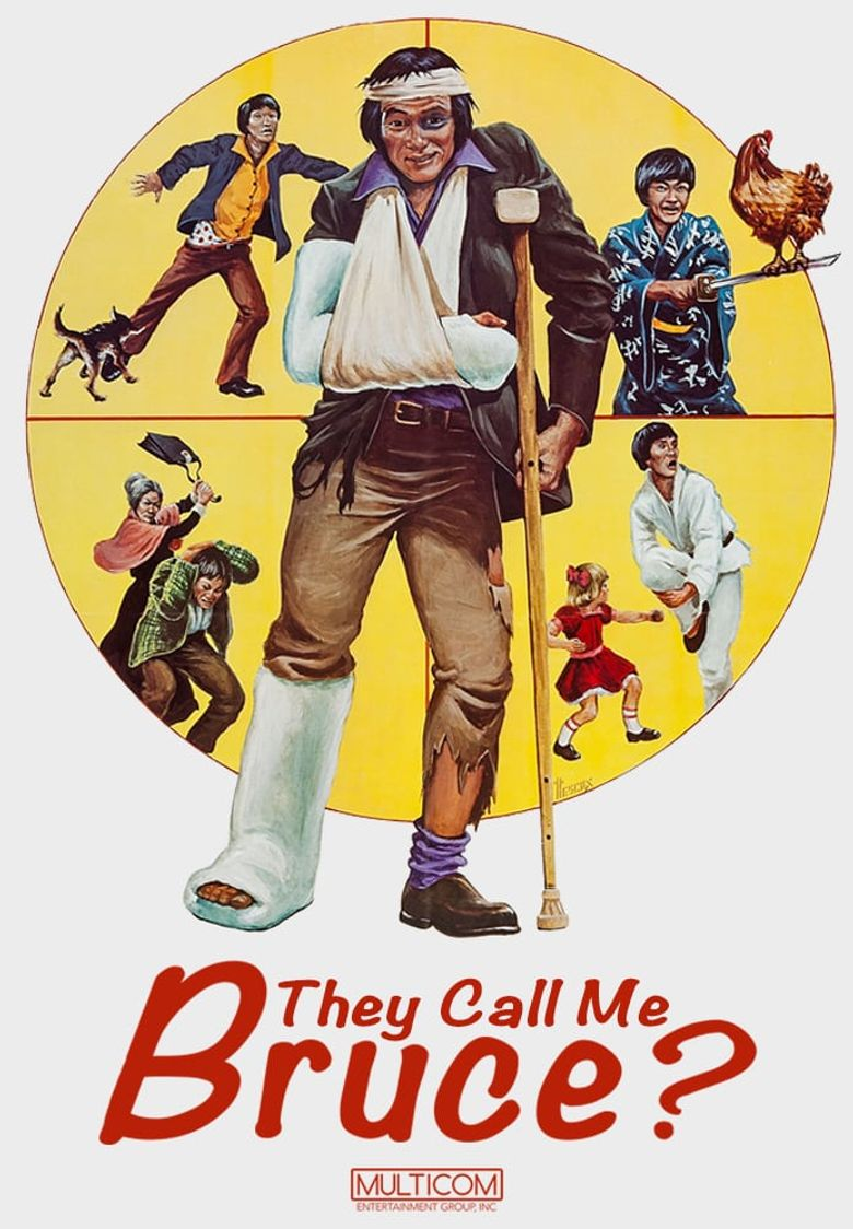 They Call Me Bruce? Poster