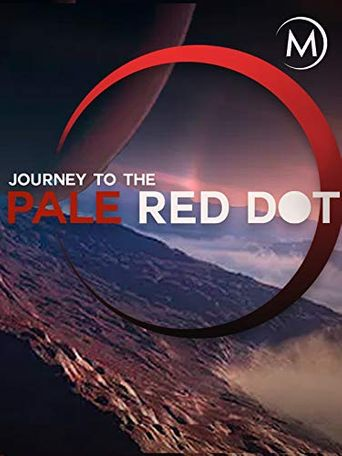 Journey to the Pale Red Dot Poster