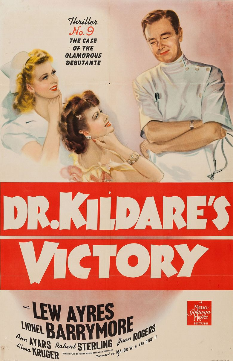 Dr. Kildare's Victory Poster