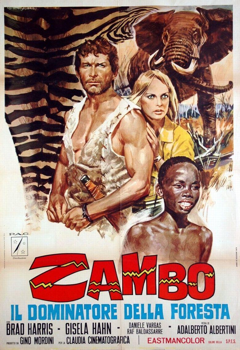 Zambo, King Of The Jungle Poster