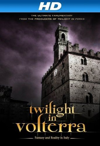 Twilight in Volterra Poster