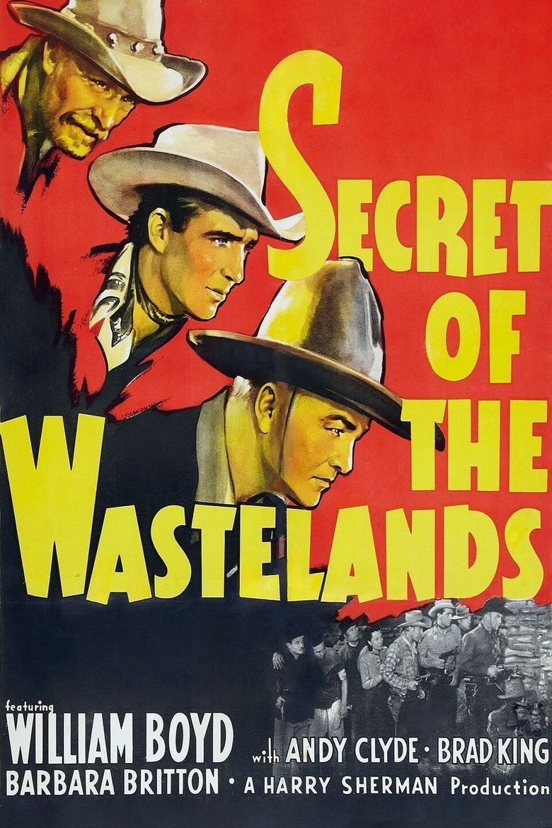 Secrets of the Wastelands Poster