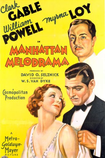 Watch Manhattan Melodrama