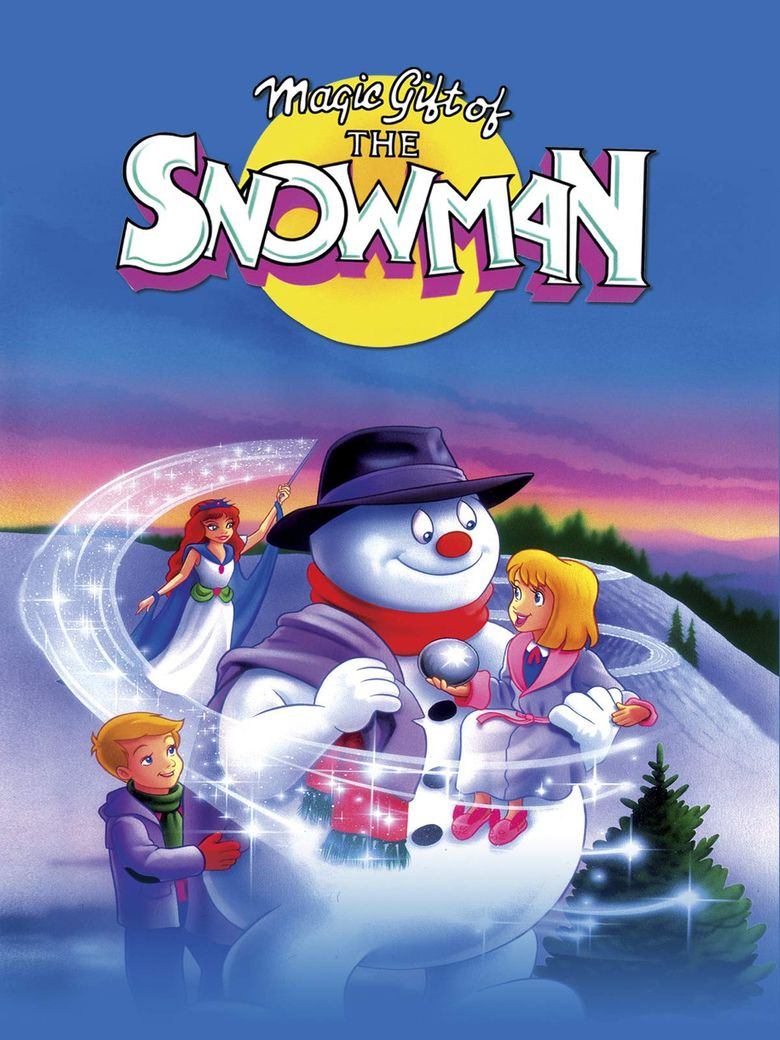 Magic Gift of the Snowman Poster