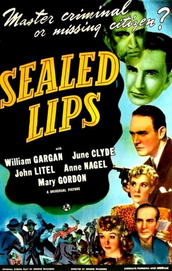 Sealed Lips Poster