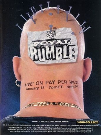 WWE Royal Rumble 1998 Poster