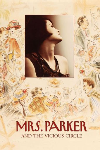 Mrs. Parker and the Vicious Circle Poster