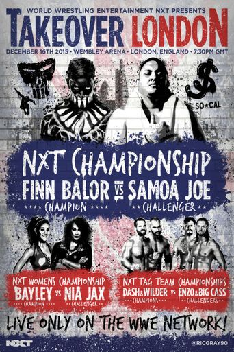 NXT TakeOver: London Poster