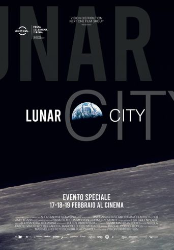 Lunar City Poster