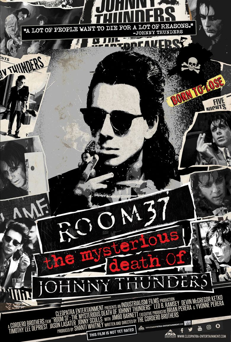 Room 37 - The Mysterious Death of Johnny Thunders Poster