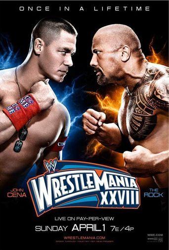 WWE WrestleMania XXVIII Poster