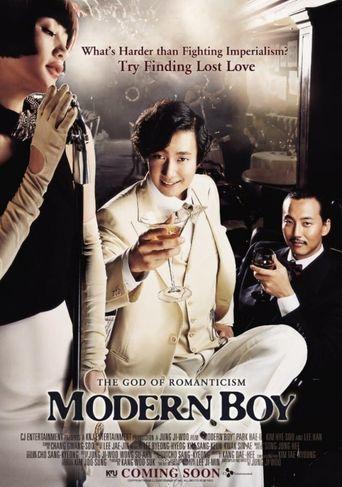 Modern Boy Poster