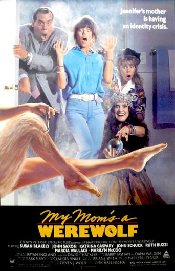 My Mom's a Werewolf Poster