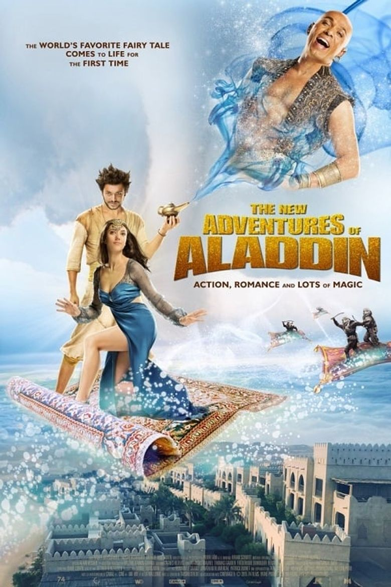 The New Adventures of Aladdin Poster