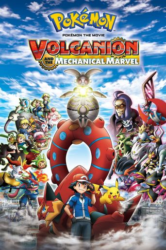 Pokémon the Movie: Volcanion and the Mechanical Marvel Poster