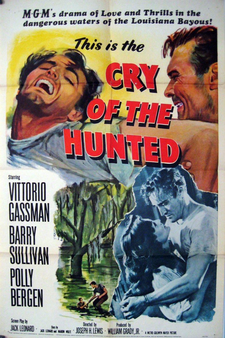 Cry of the Hunted Poster