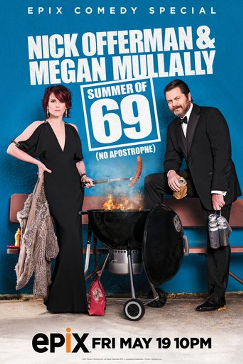 Nick Offerman & Megan Mullally - Summer of 69: No Apostrophe Poster
