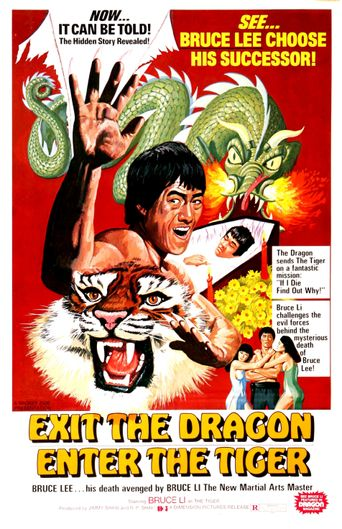 Exit the Dragon, Enter the Tiger Poster