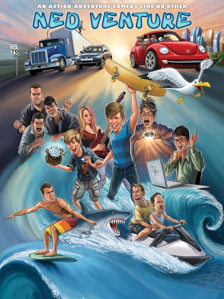 Ned Venture Poster