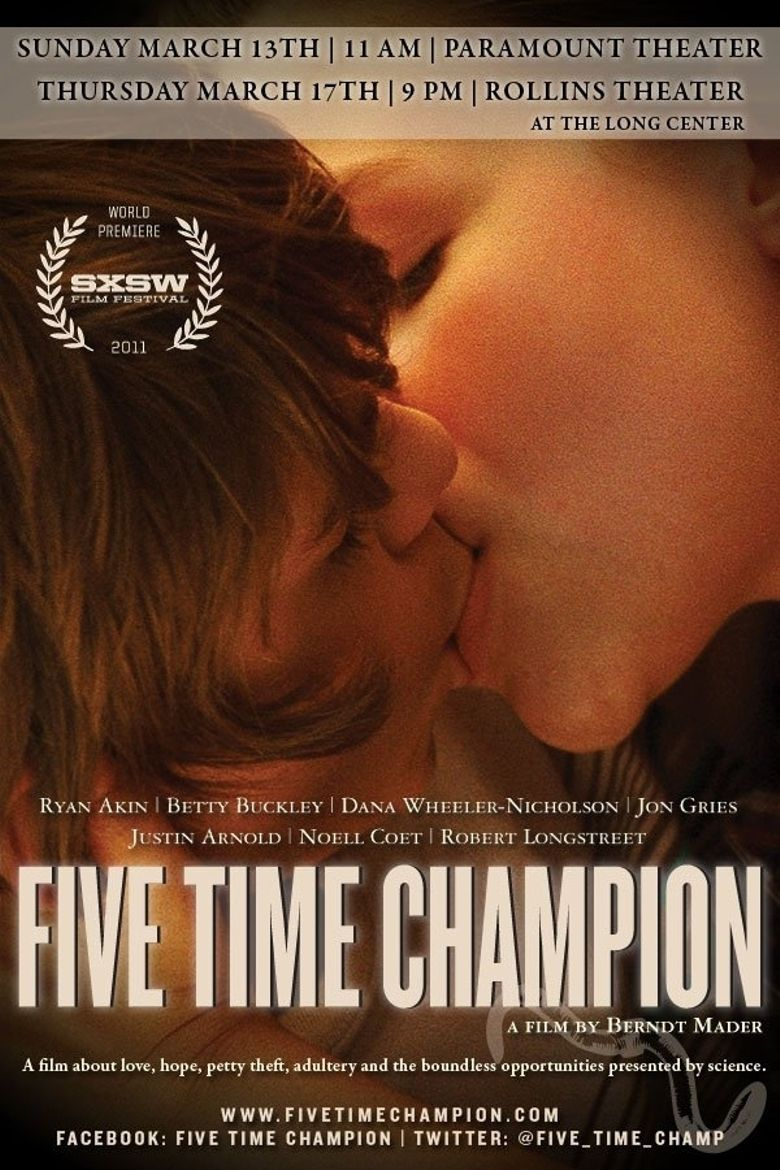 Five Time Champion Poster