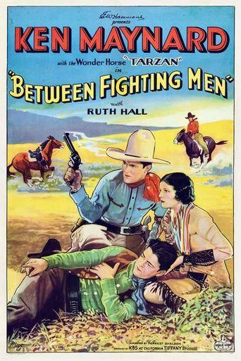 Between Fighting Men Poster