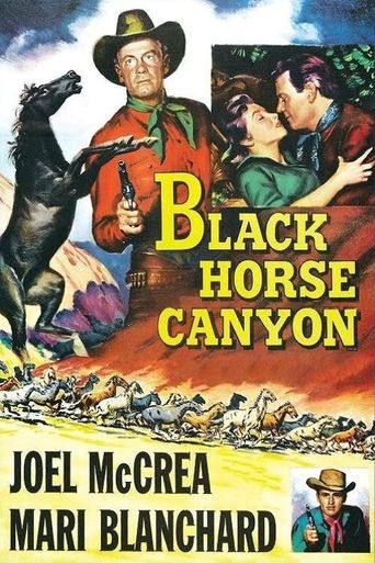 Black Horse Canyon Poster