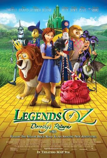 Legends of Oz: Dorothy's Return Poster
