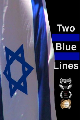 Two Blue Lines Poster