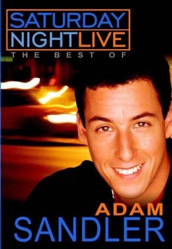Saturday Night Live: The Best of Adam Sandler Poster