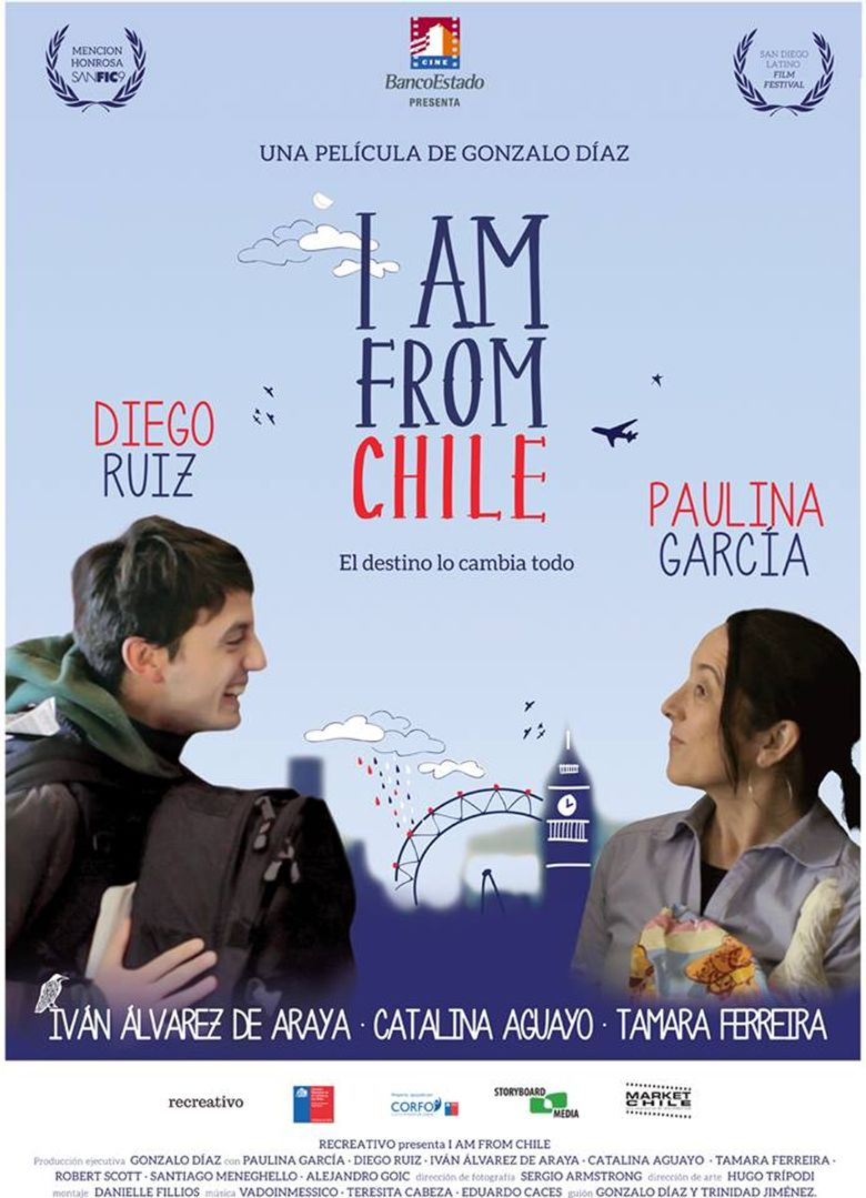 I Am From Chile Poster