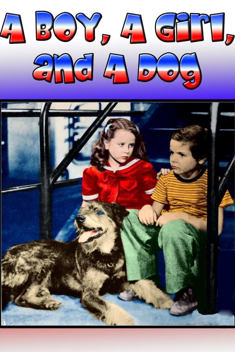 A Boy, a Girl and a Dog Poster