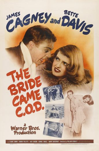 The Bride Came C.O.D. Poster