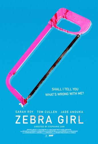 Zebra Girl Poster