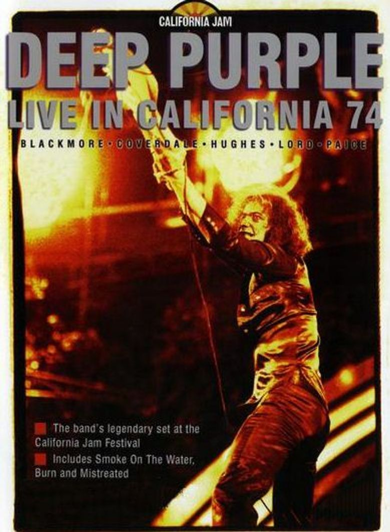 Deep Purple: Live In California '74 Poster