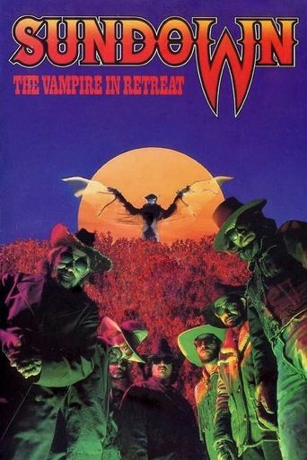 Sundown: The Vampire in Retreat Poster