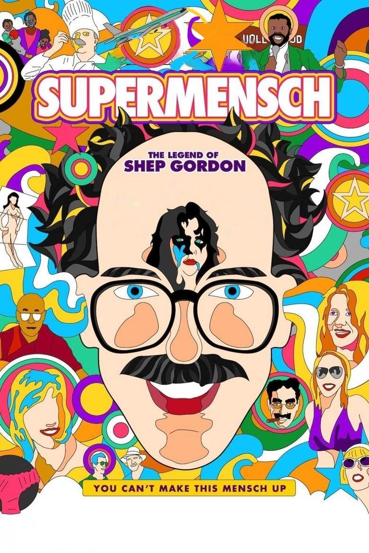Supermensch: The Legend of Shep Gordon Poster