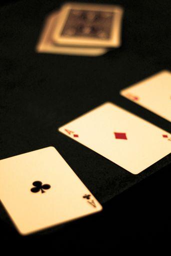 Ricky Jay plays poker Poster