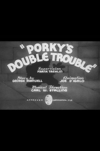 Porky's Double Trouble Poster