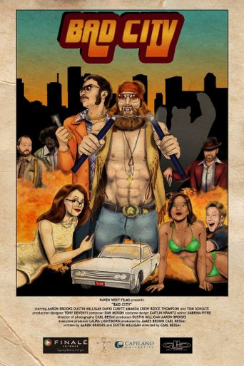 Bad City Poster
