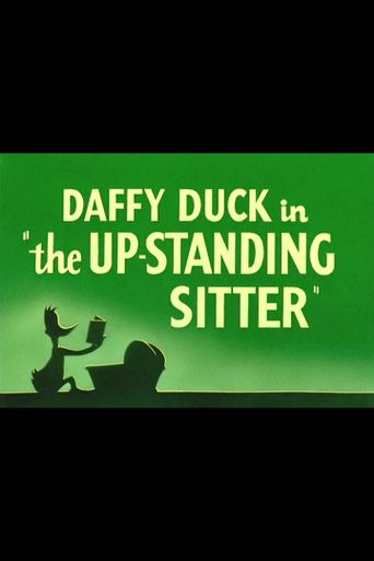 The Up-Standing Sitter Poster