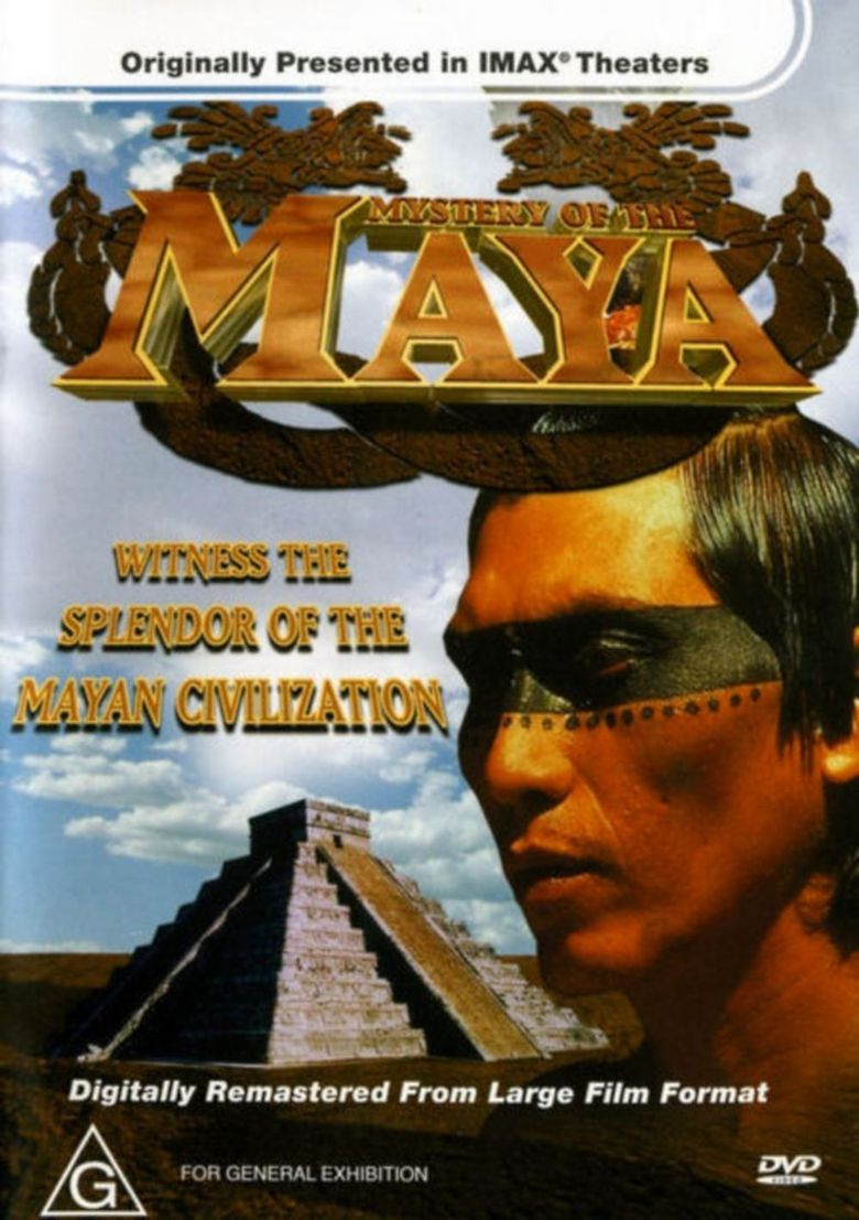 IMAX Mystery of the Maya Poster