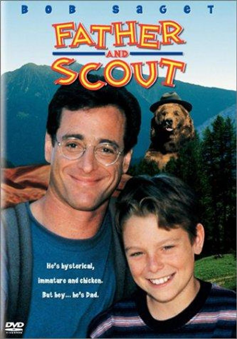 Father and Scout Poster