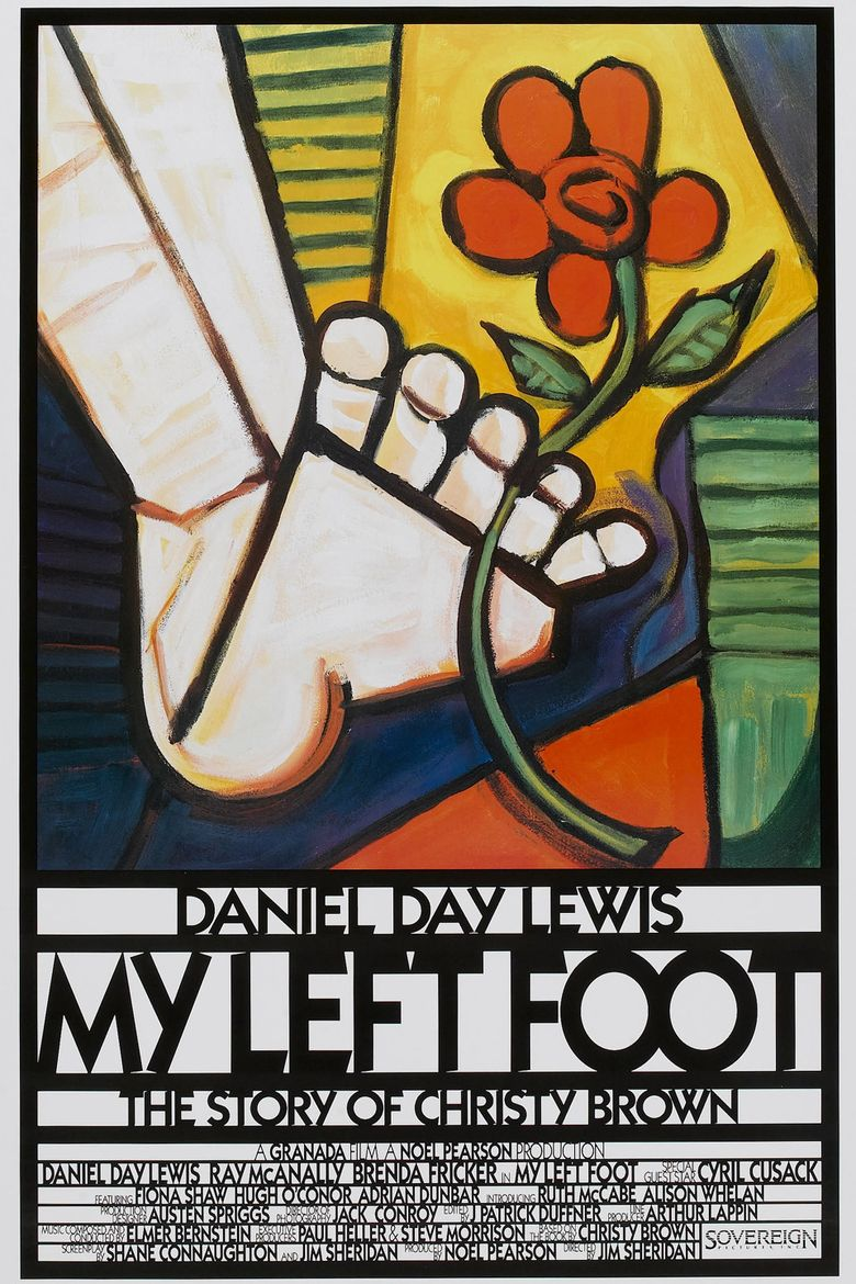 My Left Foot: The Story of Christy Brown Poster